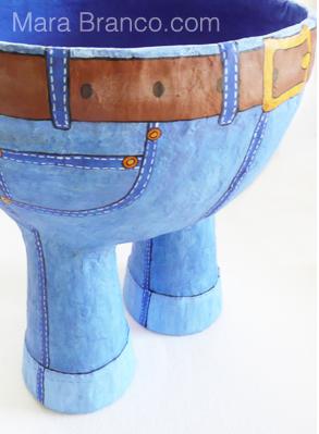 Jeans Bowl by Mara Branco